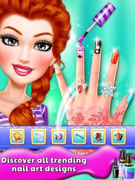 Princess Nail Art Salon Nail Art Games For Girls For Android Apk