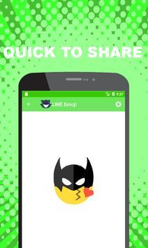 Emoji for LINE - Cute Puppy, Cat, Animal Emoji apk screenshot
