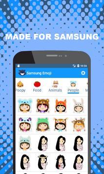 Emoji for Samsung - Cute Puppy, Cat, Animal Emoji apk screenshot