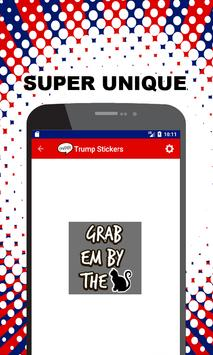 Trump Stickers - The 2017 Presidential Collection apk screenshot