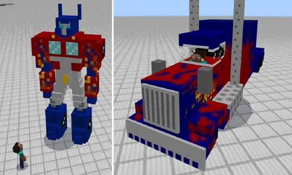 Mod Transformers for MCPE poster