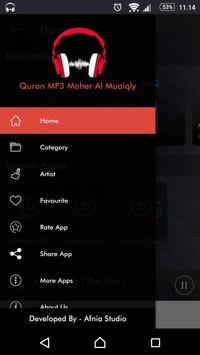 Al Quran MP3 Audio by Maher Al Muaiqly apk screenshot