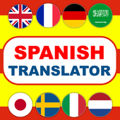Spanish Translator Traductor de Idiomas gratuito icon