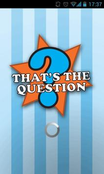 That's the Question poster