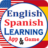 English Spanish Learning app and Vocabulary Game icon