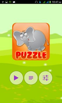 Animal Puzzle for Kids 1 poster