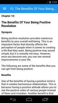 How to be Positive apk screenshot