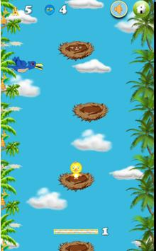 flappy yellow bird poster