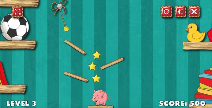 Piggy Bank Cut Rope screenshot 2