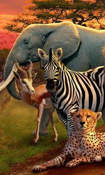 Poster LWP Animale Africano