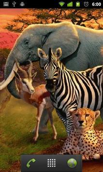 1 Schermata LWP Animale Africano