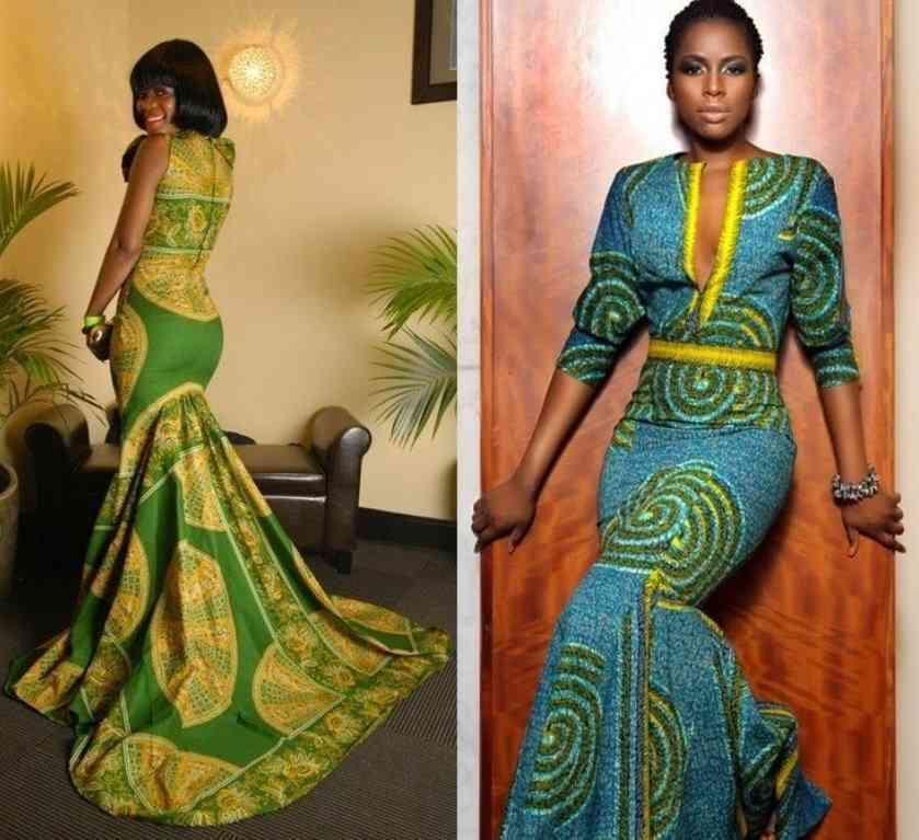 traditionelle afrikanische hochzeitskleider