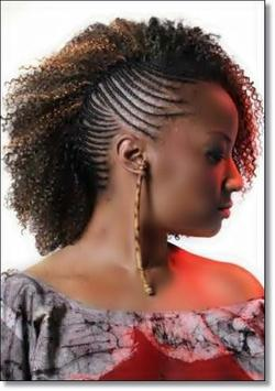 African Women Hairstyle Design Ideas apk screenshot