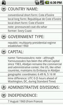 Ivory Coast apk screenshot
