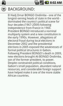 Gabon Facts apk screenshot