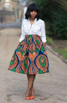 African Skirt Style Ideas poster