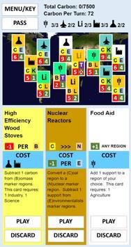 Global Warming Card Game poster
