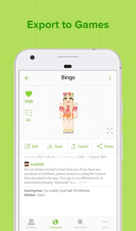 Skinseed For Minecraft APK Download