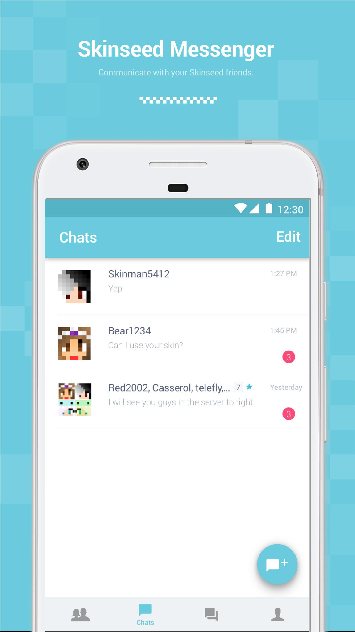 Skinseed Messenger para Android - APK Baixar