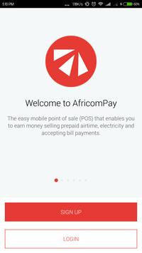 AfricomPay poster