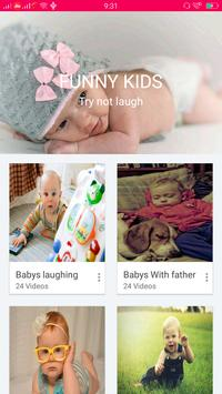 Funny Videos kids poster