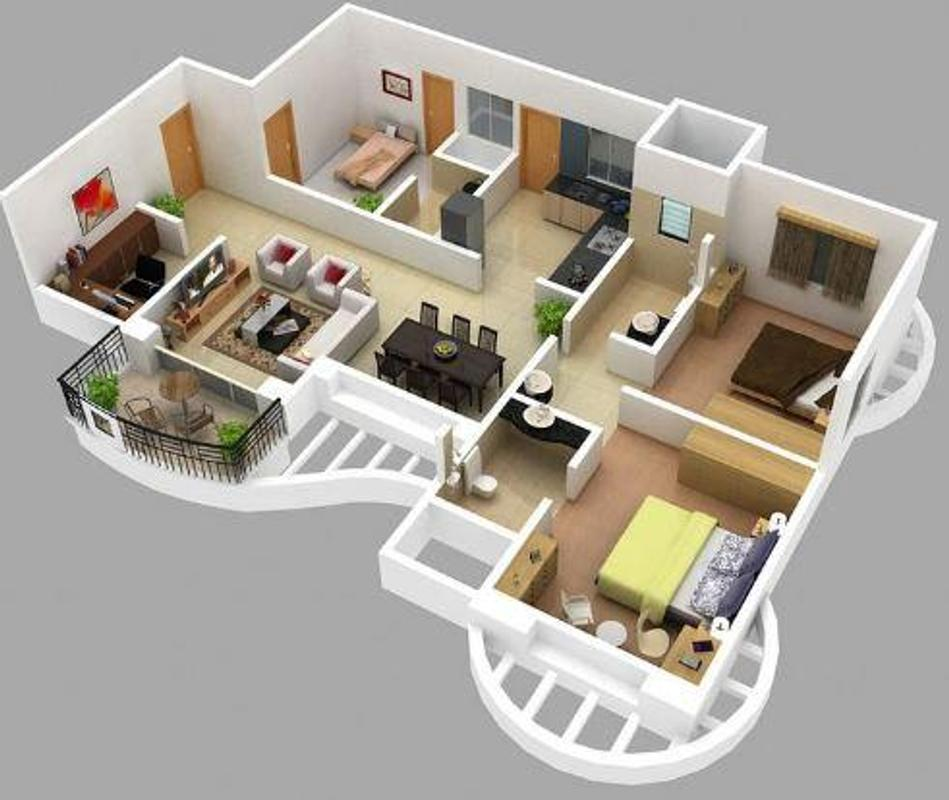 Home Design 3d 3 1 3 Apk: डिजाइन घर लेआउट For Android
