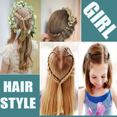 steps by step girl hairstyle icon