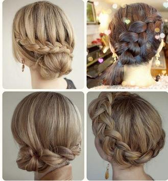 steps by step girl hairstyle screenshot 1