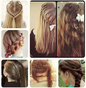 steps by step girl hairstyle screenshot 2