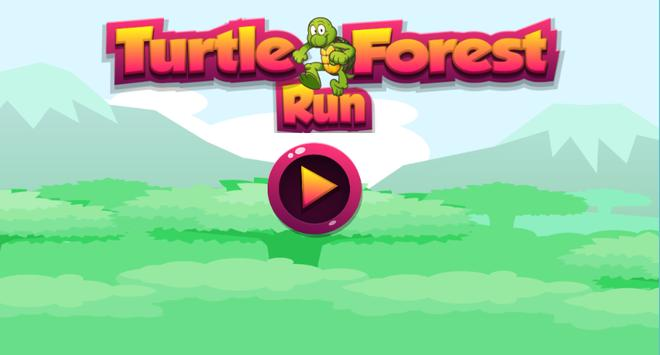 Turtle Forest Run poster