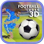 Football 2016 3D icon