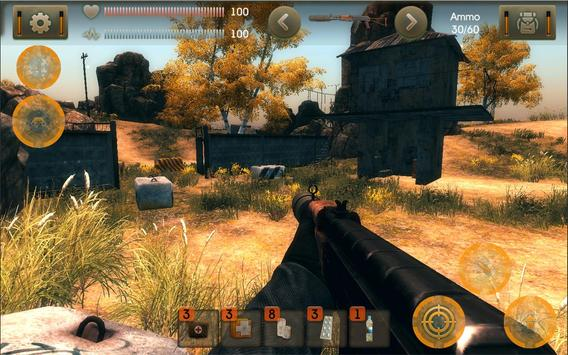 The Sun Evaluation: Post-apocalypse action shooter الملصق