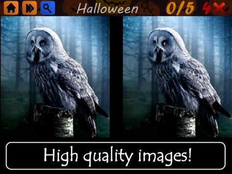 Spot The Differences Halloween apk screenshot
