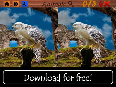 Spot The Differences: Animals! apk screenshot