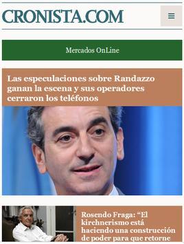 Diario Cronista Comercial screenshot 1