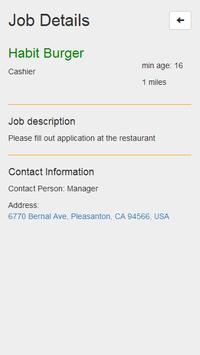 Local Teen Jobs screenshot 3