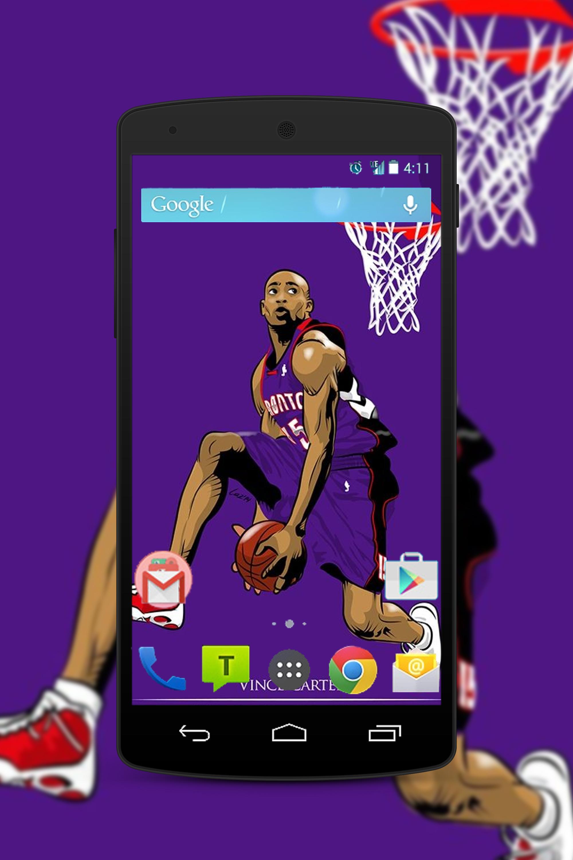 Vince Carter Wallpaper Fans HD für Android - APK herunterladen