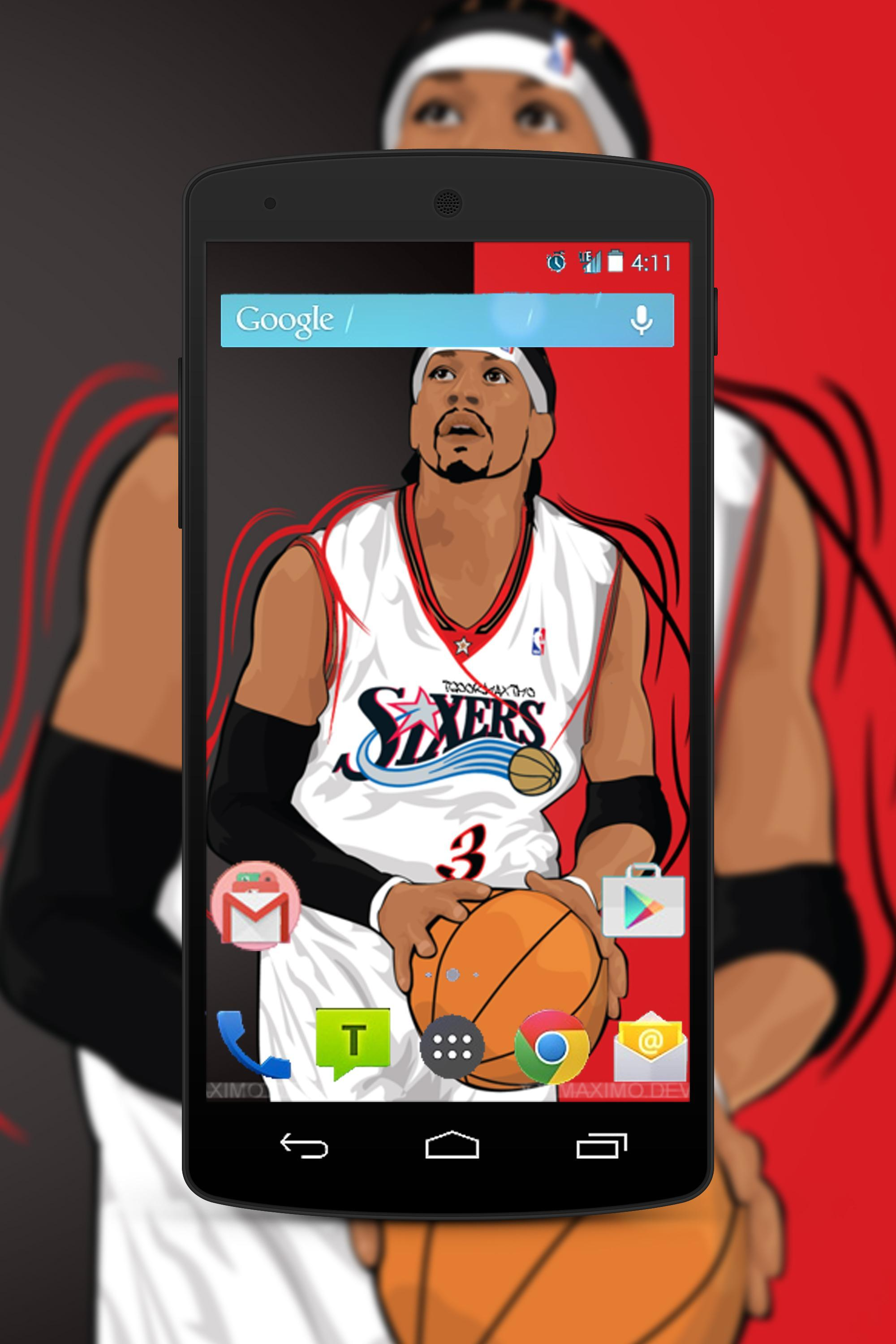 Allen Iverson Wallpaper Fans Hd For Android Apk Download