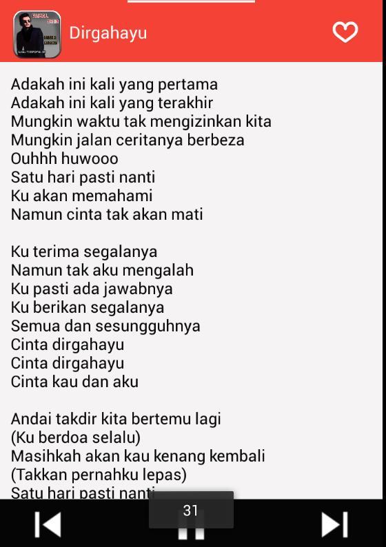 Faizal Tahir Music Lyrics For Android Apk Download