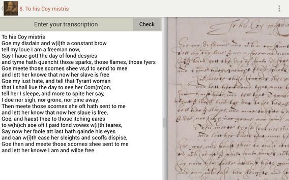 Tudor and Stuart Handwriting screenshot 13