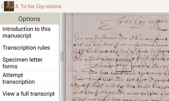 Tudor and Stuart Handwriting screenshot 2