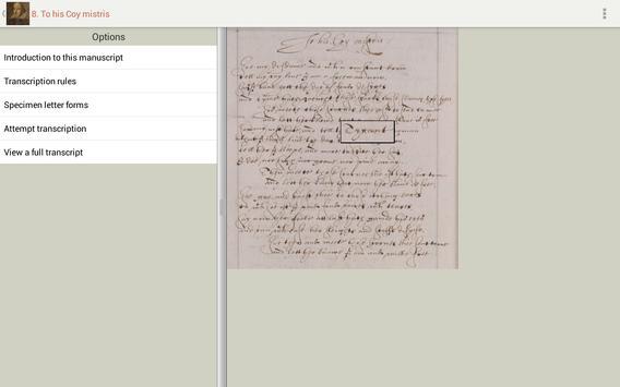 Tudor and Stuart Handwriting screenshot 7