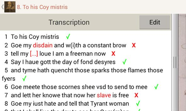 Tudor and Stuart Handwriting screenshot 4