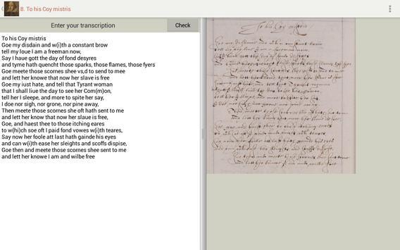 Tudor and Stuart Handwriting screenshot 8