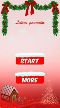 Xmas letter to santa for android apk download xmas letter to santa poster xmas letter to santa screenshot 1 spiritdancerdesigns Image collections