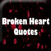 Broken Heart Quotes Wallpaper icon