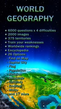 World geography quiz game apk download free trivia game for world geography quiz game poster gumiabroncs Image collections