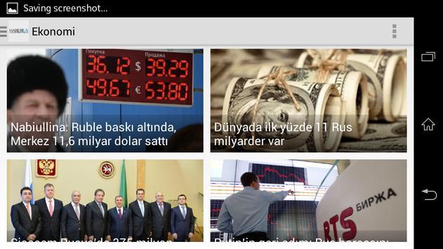 Haberrus apk screenshot