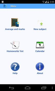 School diary lite poster