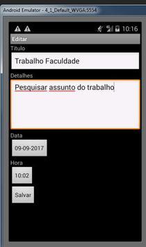 Agenda de Tarefas Fox apk screenshot
